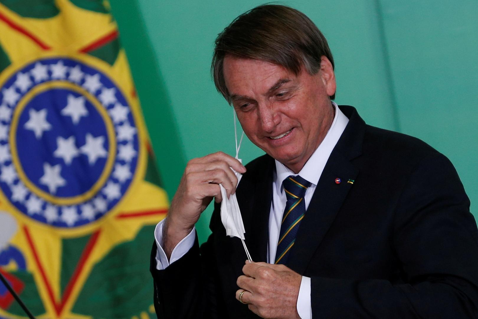 الرئيس البرازيلي يوبخ صحفيا : أنتم صحافة هراء