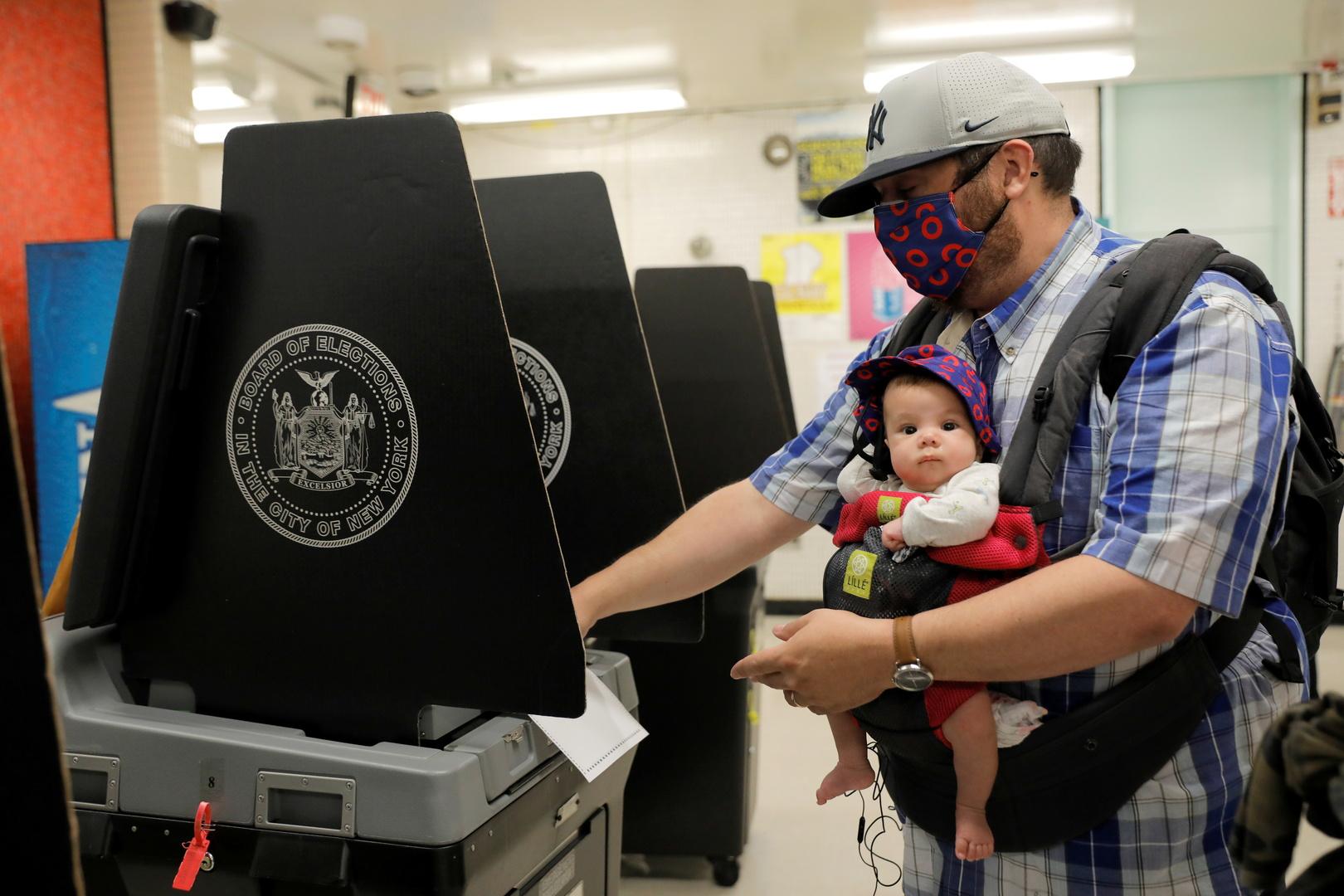 سكان نيويورك يختارون بين مرشحي الحزب الديمقراطي رئيسا للبلدية