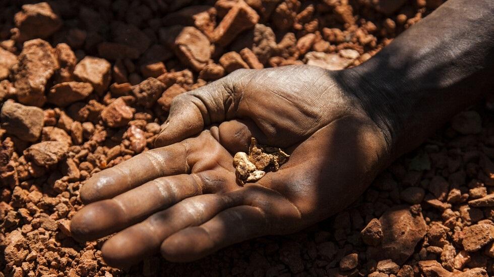 التنقيب عن الذهب في الكونغو الديمقراطية - أرشيف