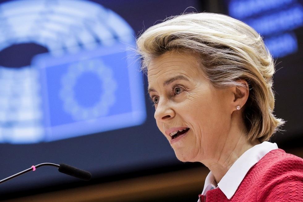 رئيسة المفوضية الأوروبية أورسولا فون دير