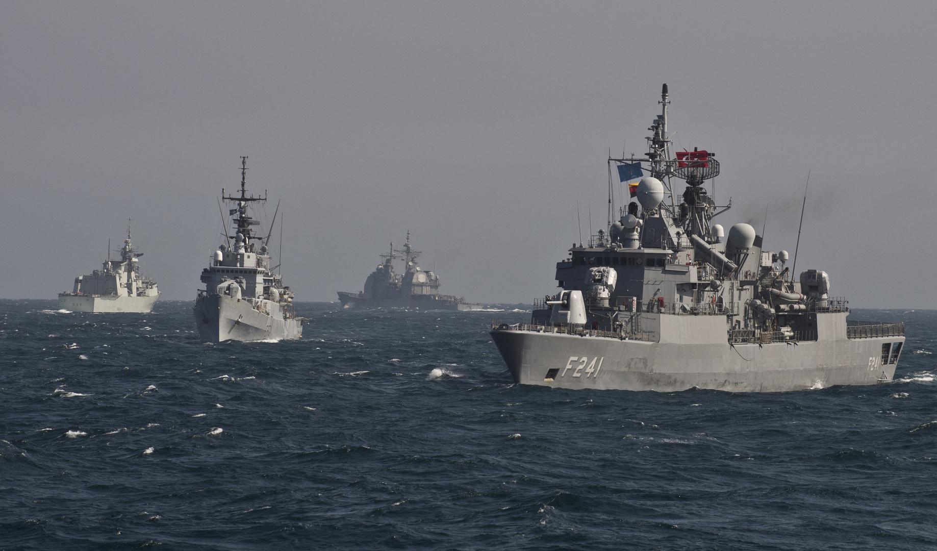أربع دول عربية تشارك في مناورات بحرية ضخمة مثيرة للجدل في البحر الأسود