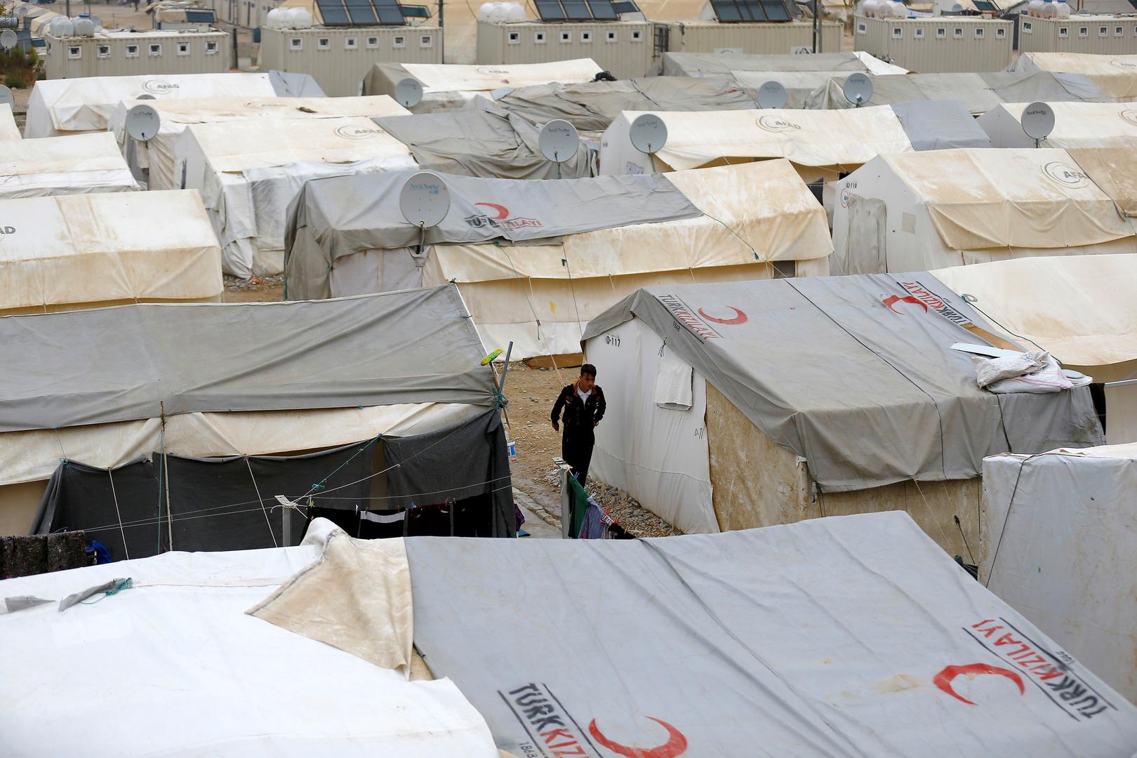 مخيم للاجئين السوريين في تركيا، أرشيف