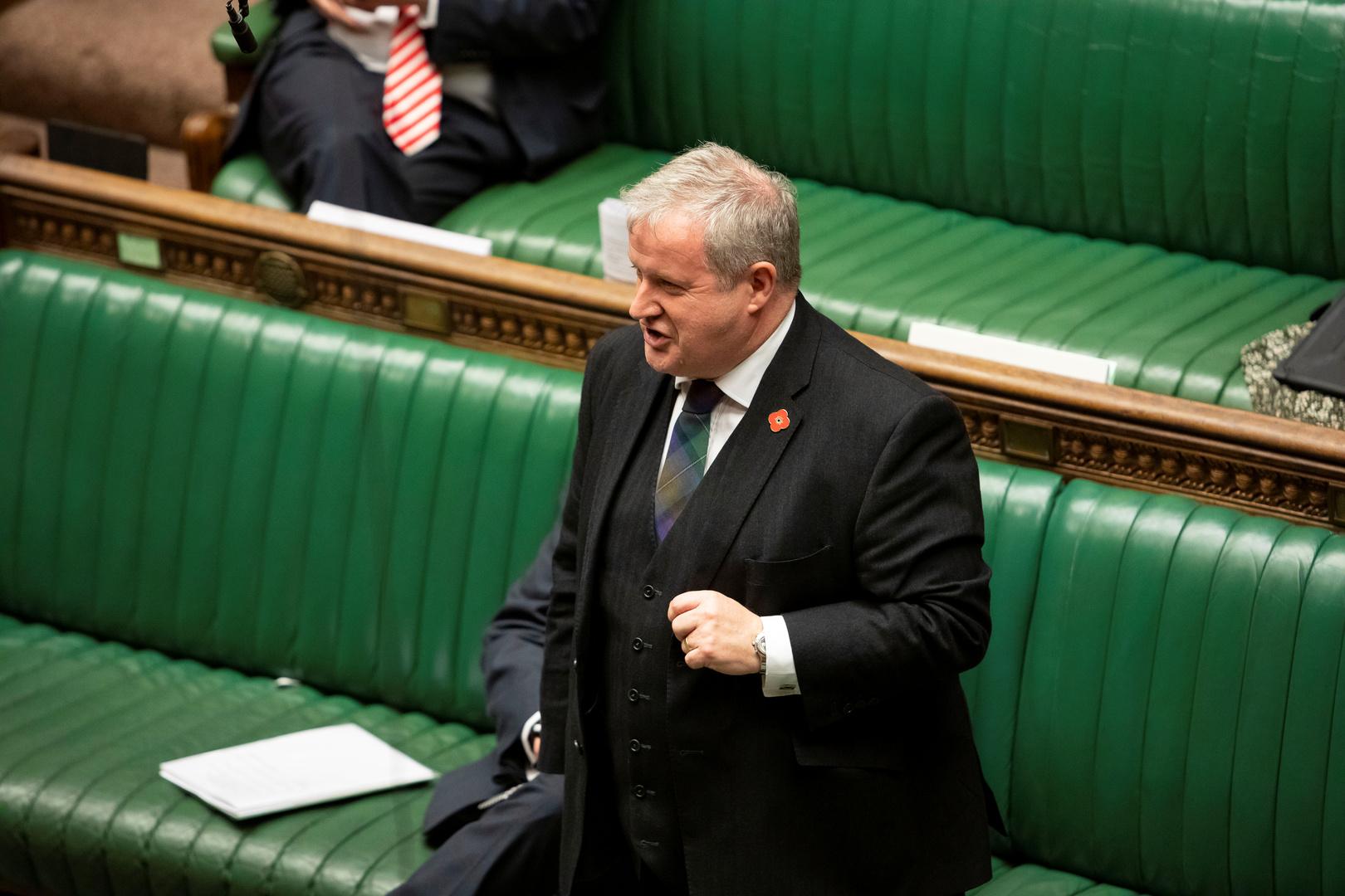 رئيس الحزب الوطني الاسكتلندي، إيان بلاكفورد