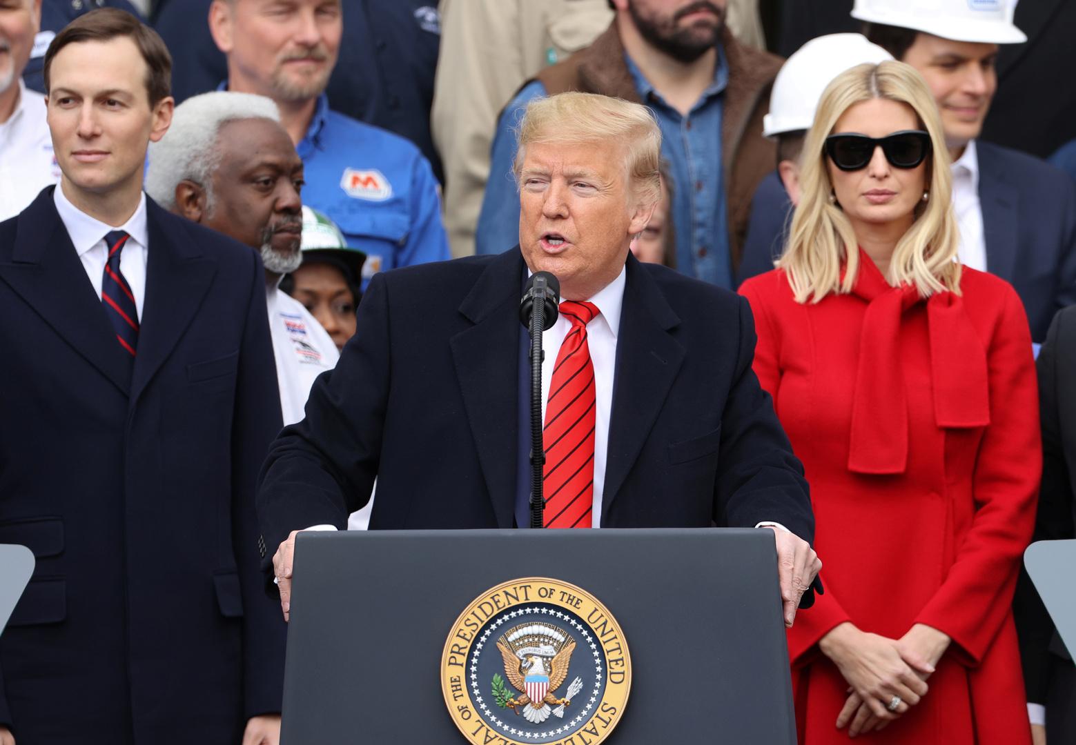 تقرير: إيفانكا ترامب وجاريد كوشنر يحاولان النأي بنفسيهما عن ترامب