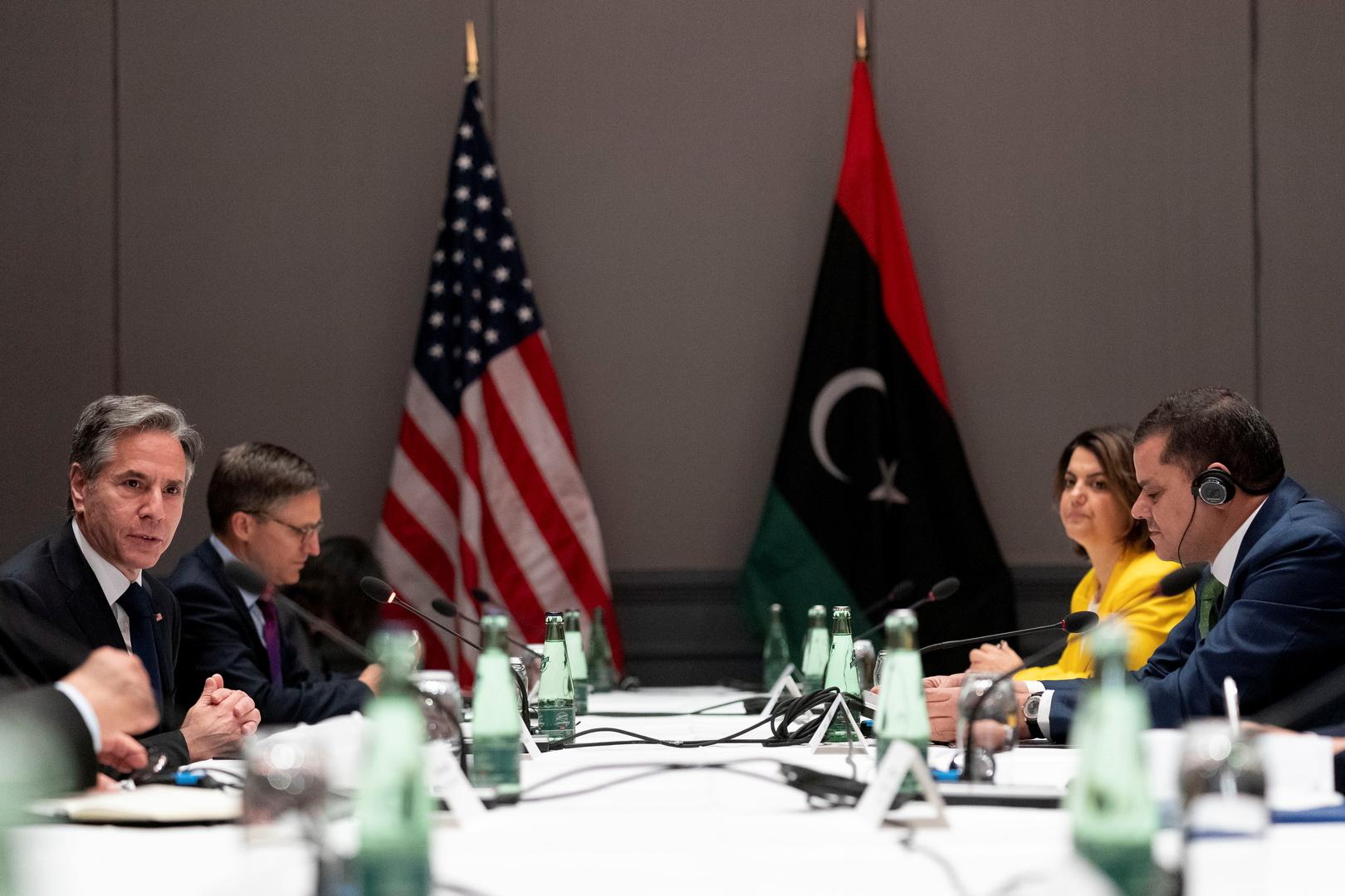 الدبيبة وبليكن يؤكدان ضرورة خروج جميع المرتزقة الأجانب من ليبيا
