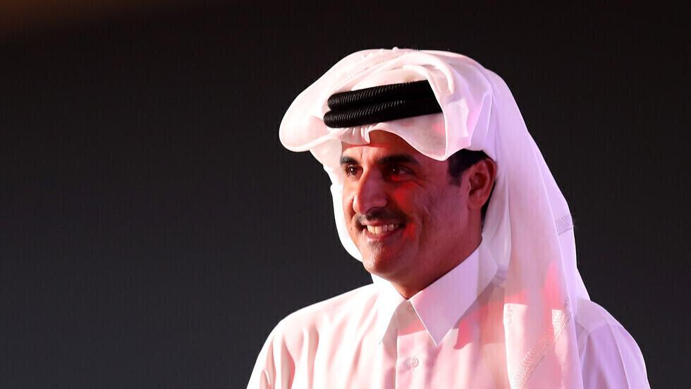 أمير قطر يتصل بالرئيس الإيراني المنتخب