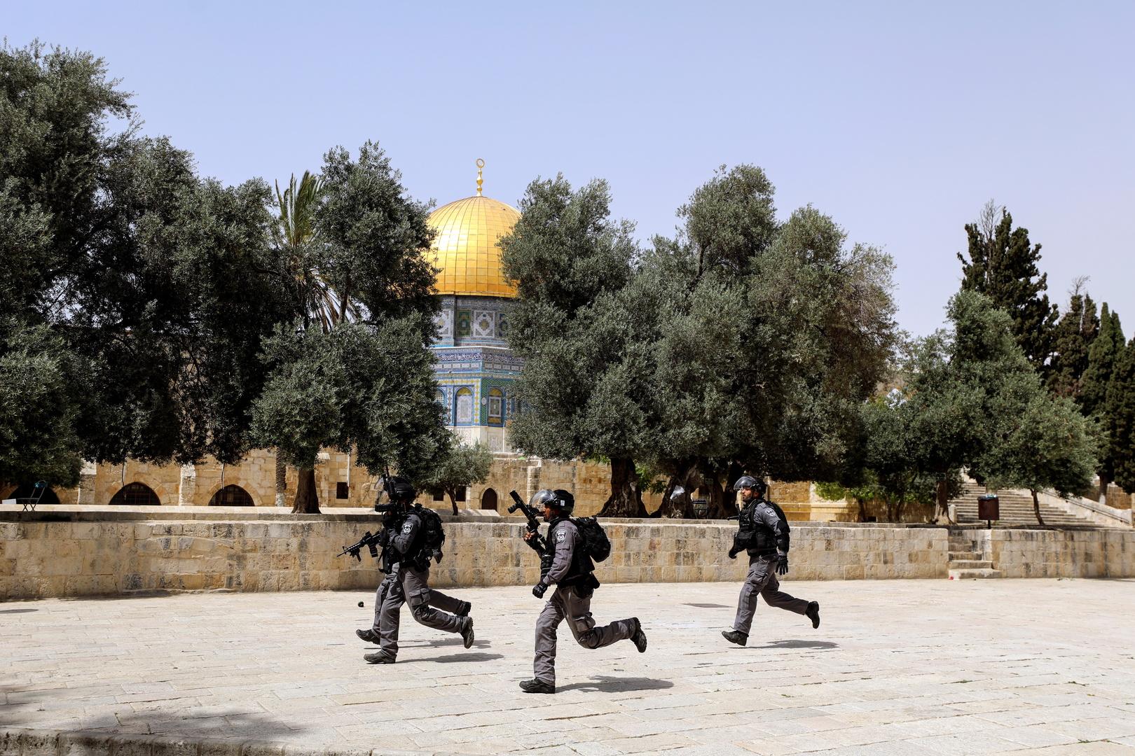 موسكو تعرب عن قلقها إزاء احتمال خروج الوضع في القدس الشرقية عن السيطرة