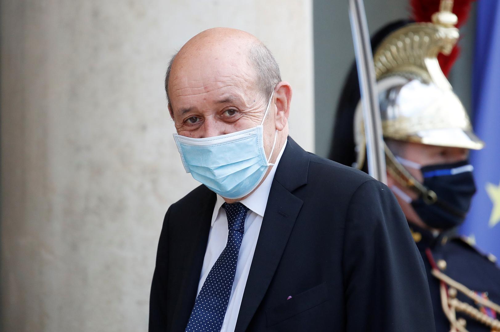 وزير خارجية فرنسا: الحوار مع روسيا مهم رغم الخلافات