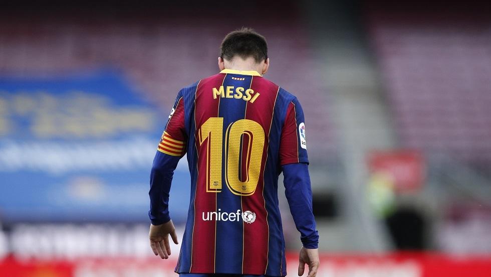 تطور جديد يطرأ على مفاوضات ميسي مع برشلونة