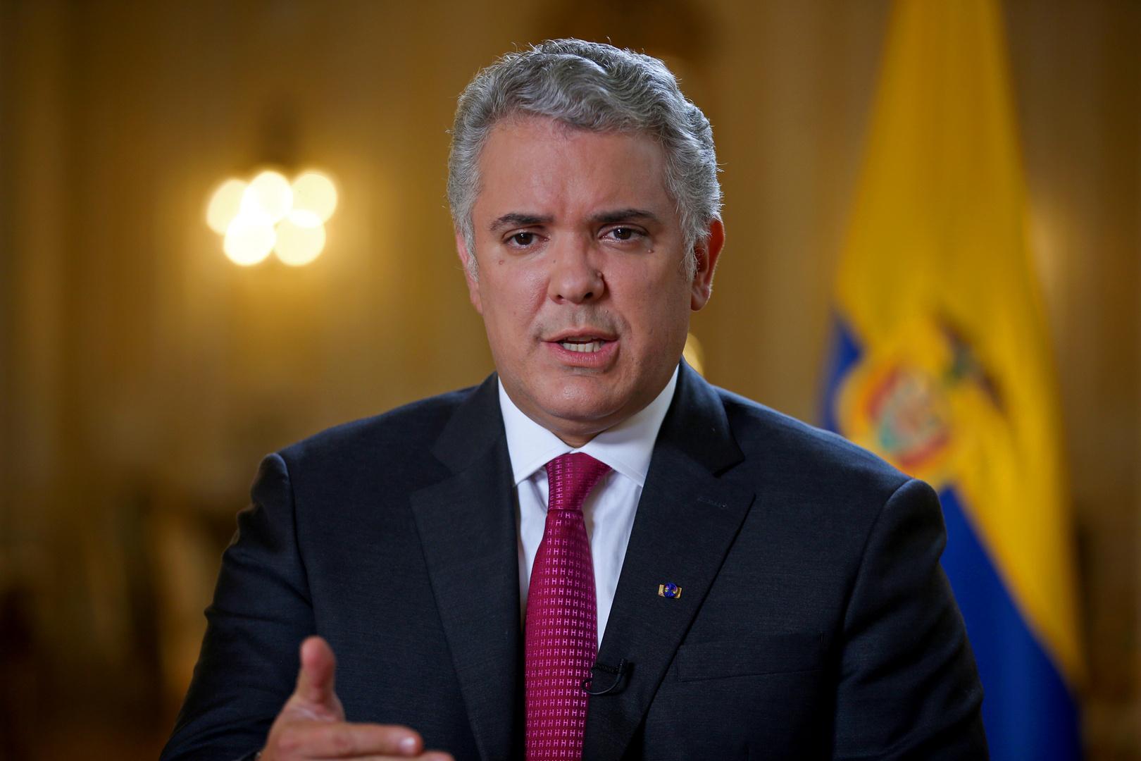 إطلاق نار على مروحية كانت تقل رئيس كولومبيا
