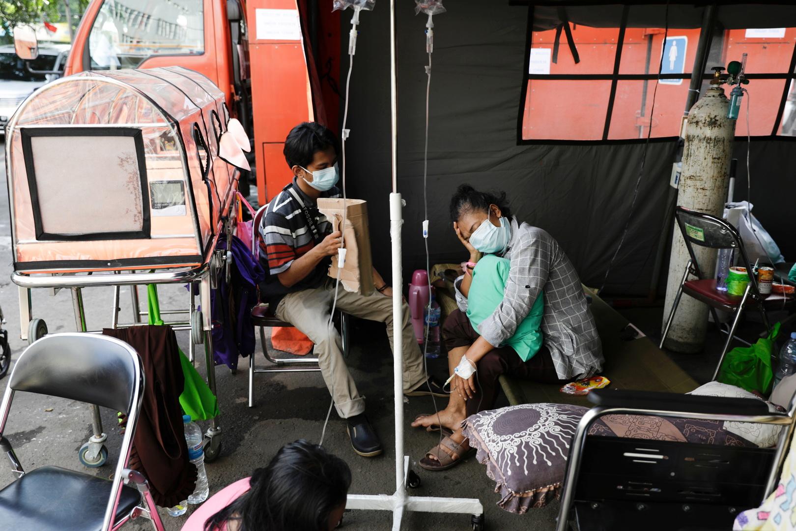 أعلى عدد للإصابات في يوم واحد.. إندونيسيا تسجل 21095 إصابة جديدة بكورونا