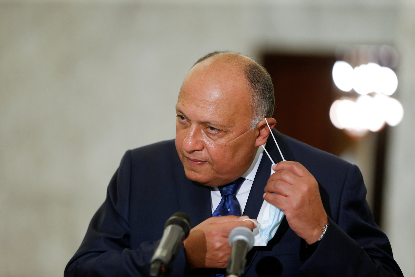 شكري يوضح المبادئ الأساسية لتطبيع العلاقات بين مصر وتركيا