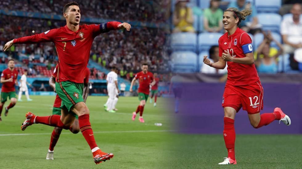 رونالدو بحاجة إلى تسجيل 77 هدفا إضافيا للبرتغال ليعادل الرقم القياسي المسجل باسم سنكلير