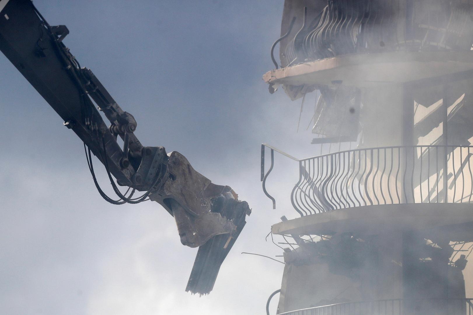 مهندس حذر من أضرار خطيرة بالمبنى في فلوريدا قبل سنوات من انهياره