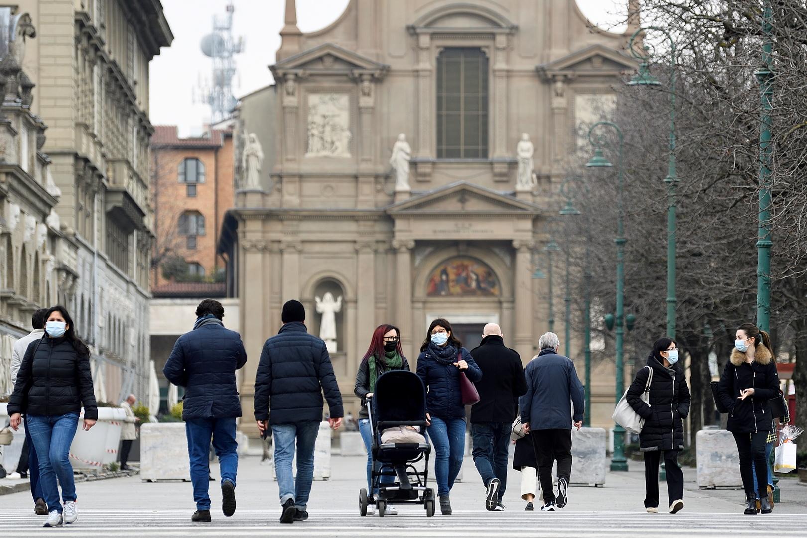 إيطاليا تسجل 838 إصابة و40 وفاة جديدة بكورونا