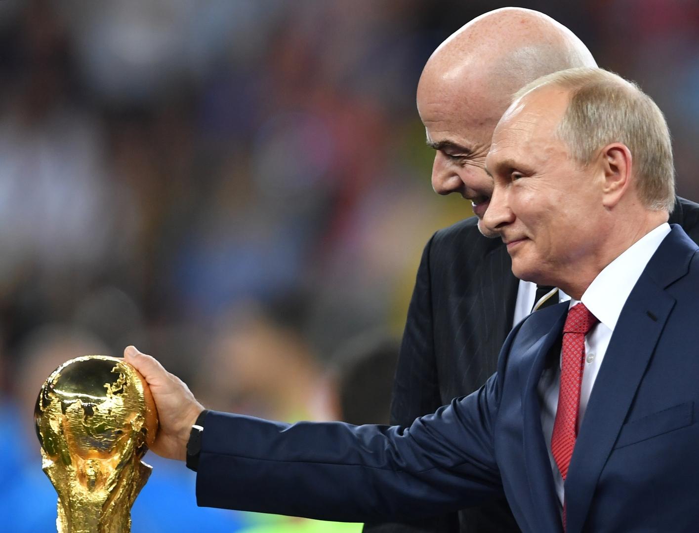 بوتين يوجه الحكومة الروسية بالمساعدة في تنظيم مونديال قطر