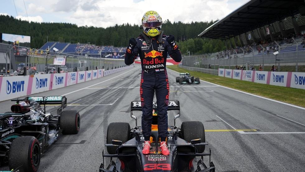 فيرستابين يتوج بجائزة النمسا الكبرى للفورمولا 1 (فيديو)
