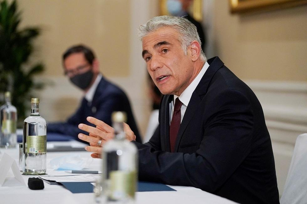 لابيد: لدينا تحفظات جدية على مفاوضات الاتفاق النووي في فيينا