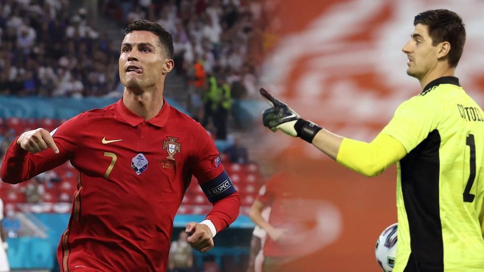 تشكيلة مباراة بلجيكا والبرتغال في