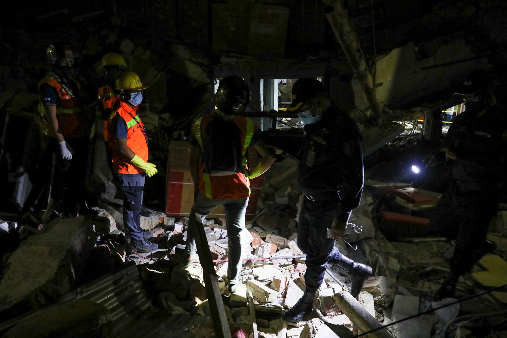 مقتل 7 أشخاص وإصابة 50 بانفجار كبير في عاصمة بنغلاديش