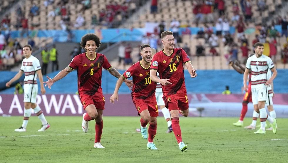 فيديو.. هدف بلجيكا في مرمى البرتغال ضمن