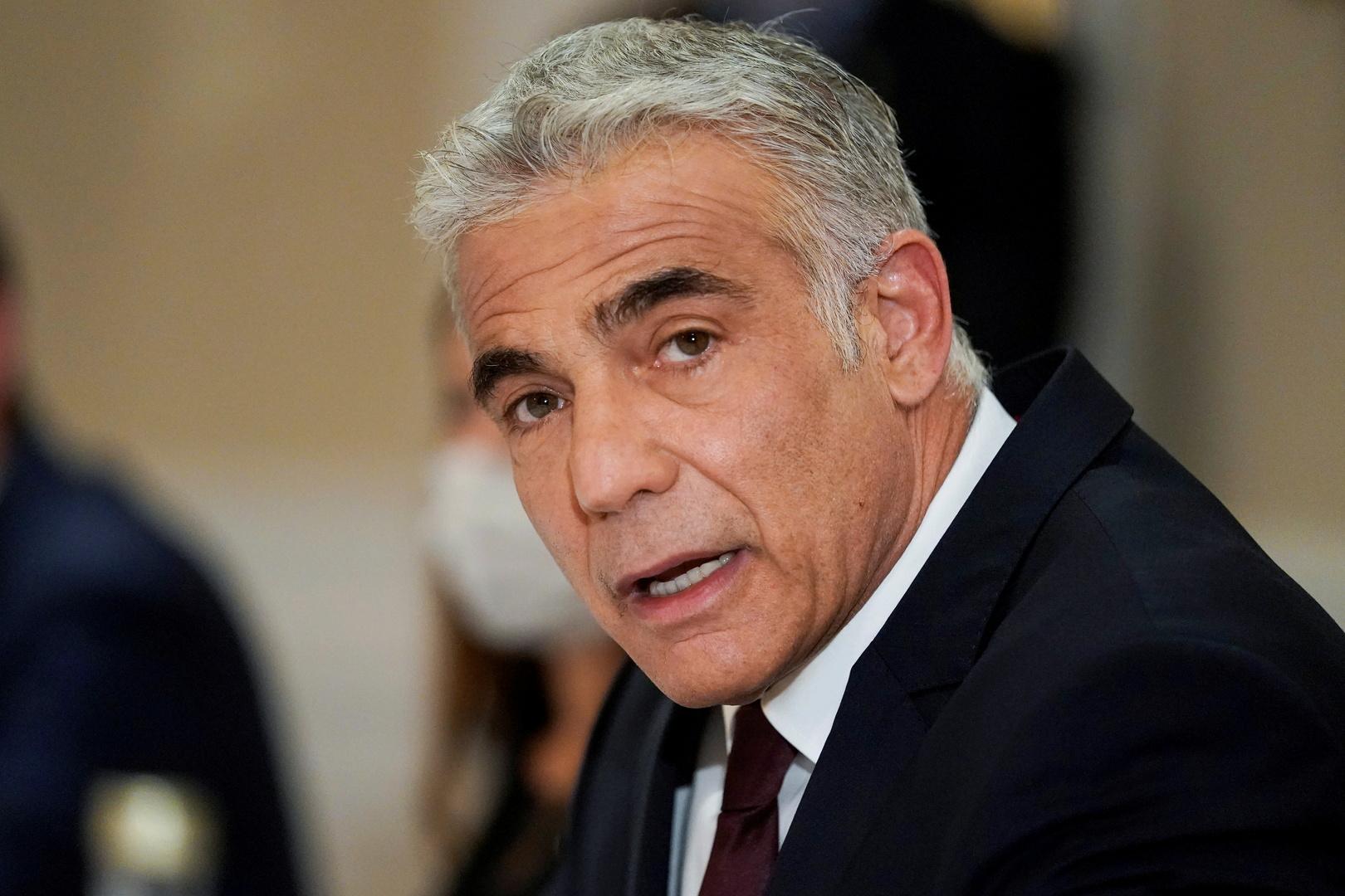 لابيد لنظيره البحريني: هناك حاجة لتوسيع اتفاقيات السلام حتى تشمل دولا أخرى في المنطقة