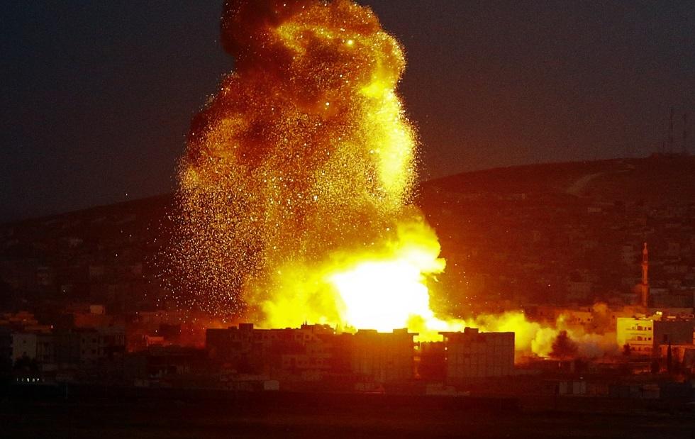 مراسلنا: 4 قتلى بالقصف الأمريكي الذي طال فصيلا عراقيا على الحدود مع سوريا