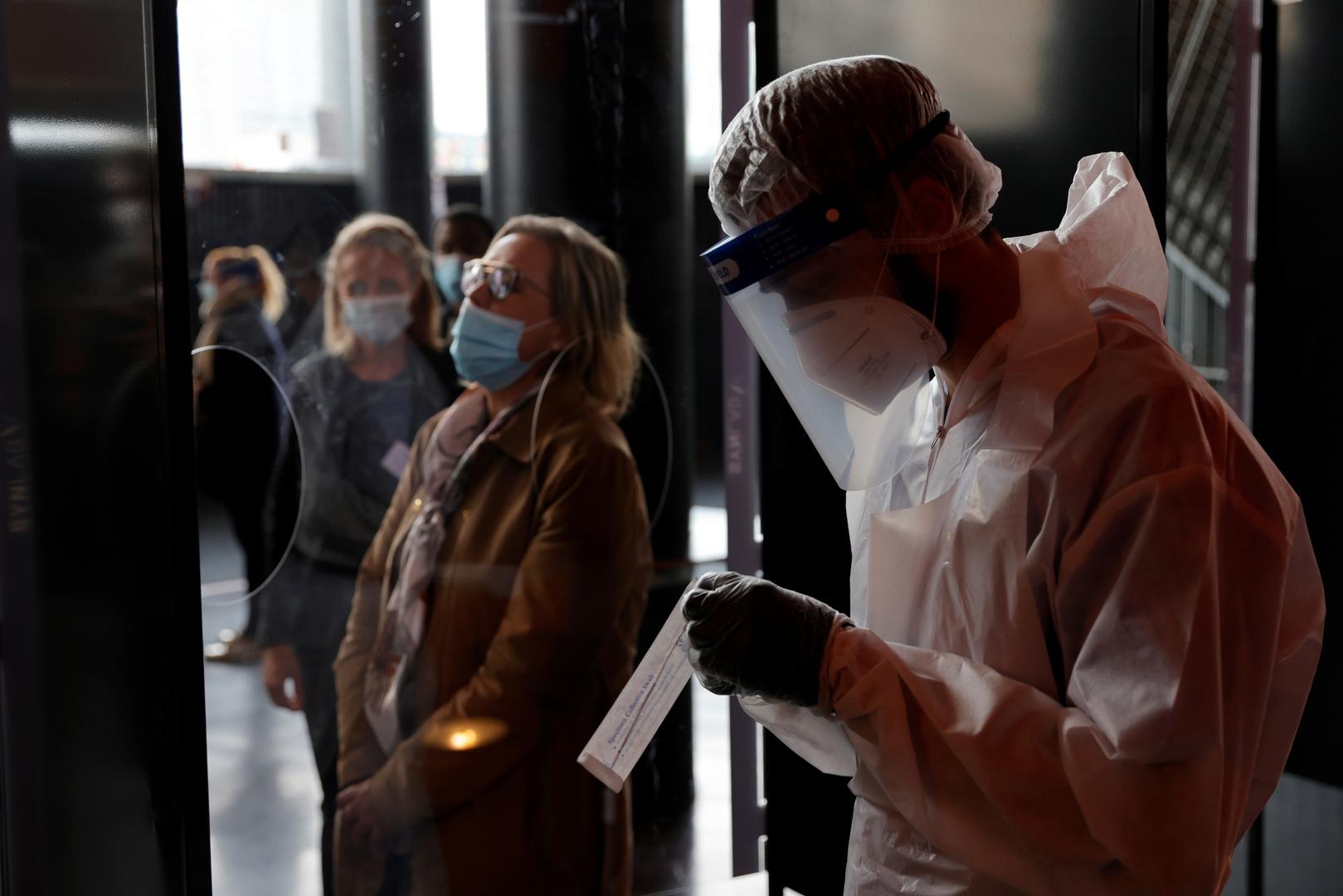 فرنسا.. 509 إصابات و44 وفاة جديدة بفيروس كورونا