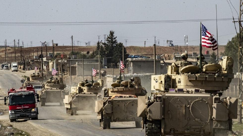 آليات أمريكية بمعدات عسكرية تدخل من العراق إلى مدينة رميلان شمال سوريا