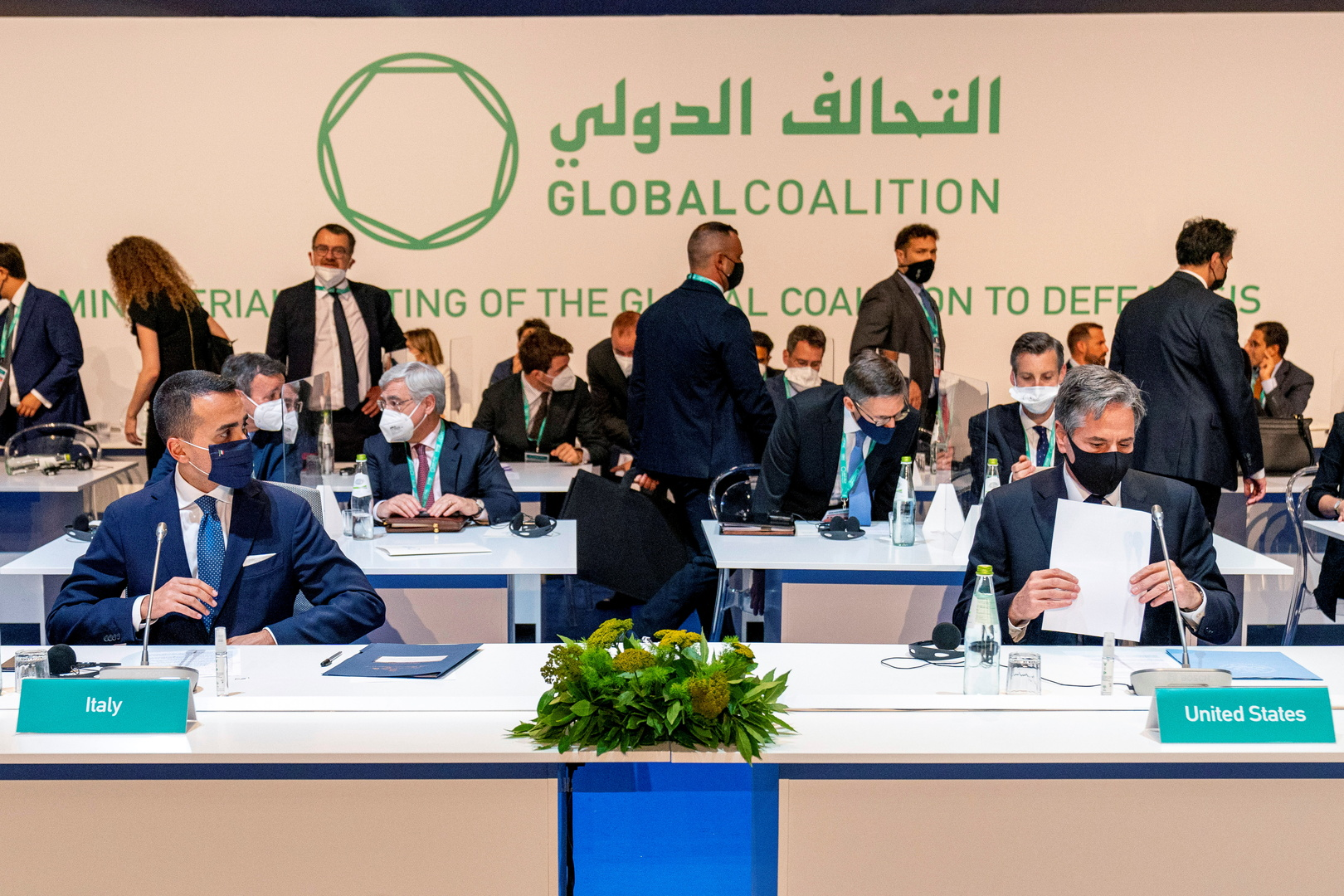 التحالف الدولي يؤكد عزمه على مواصلة القتال ضد