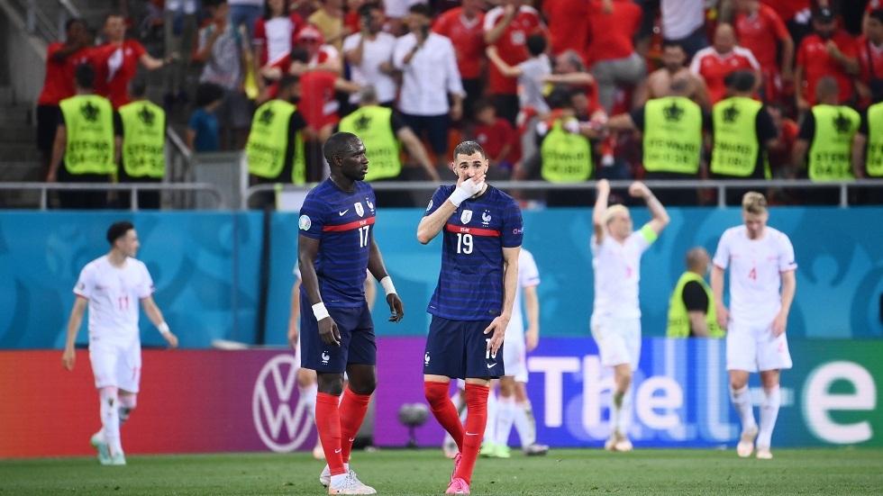سويسرا تصعق فرنسا