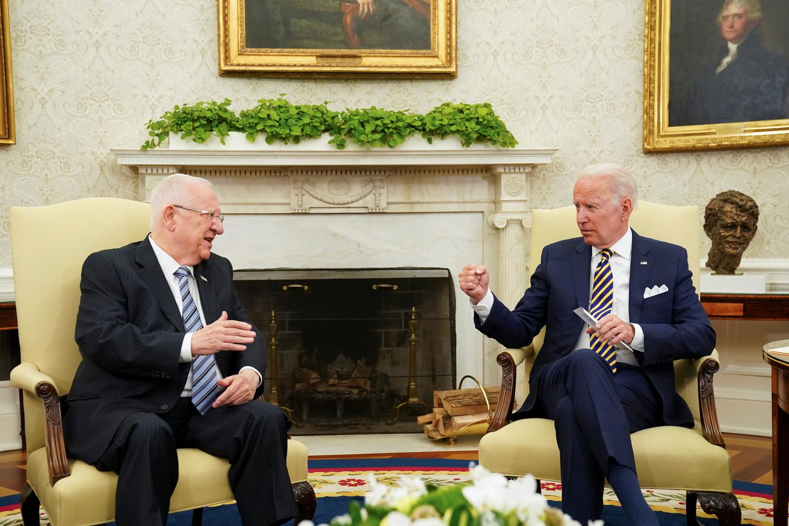 ريفلين يعبر عن ارتياحه لتصريحات بايدن بشأن إيران