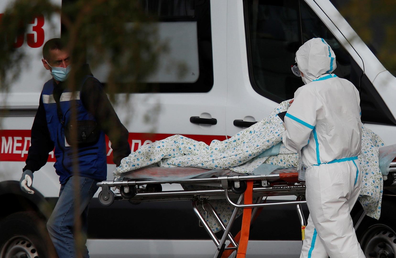روسيا.. أكثر من 20 ألف إصابة جديدة بفيروس كورونا وزيادة قياسية في عدد الوفيات