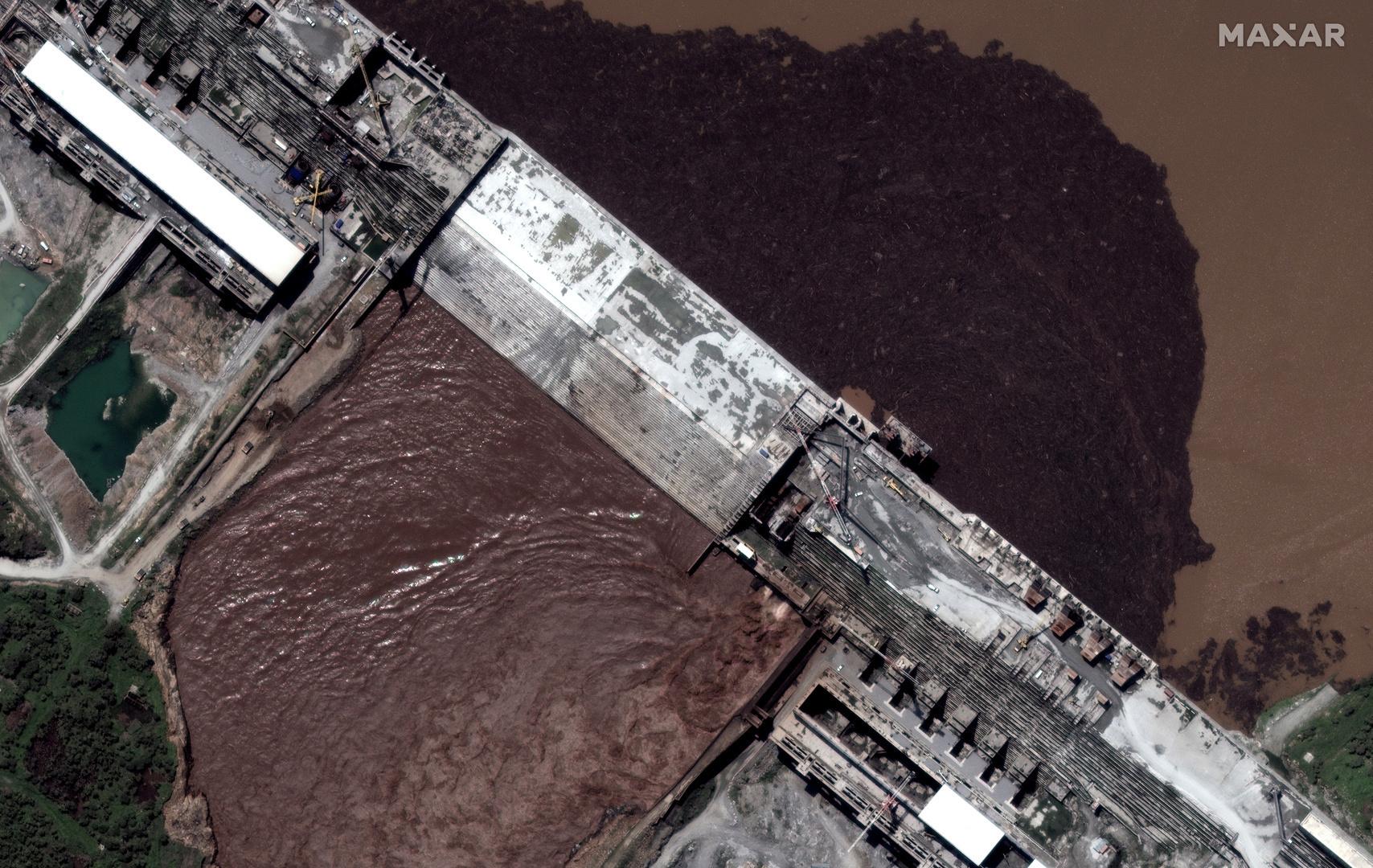 صور بالأقمار الصناعية تكشف تطورات جديدة في سد النهضة