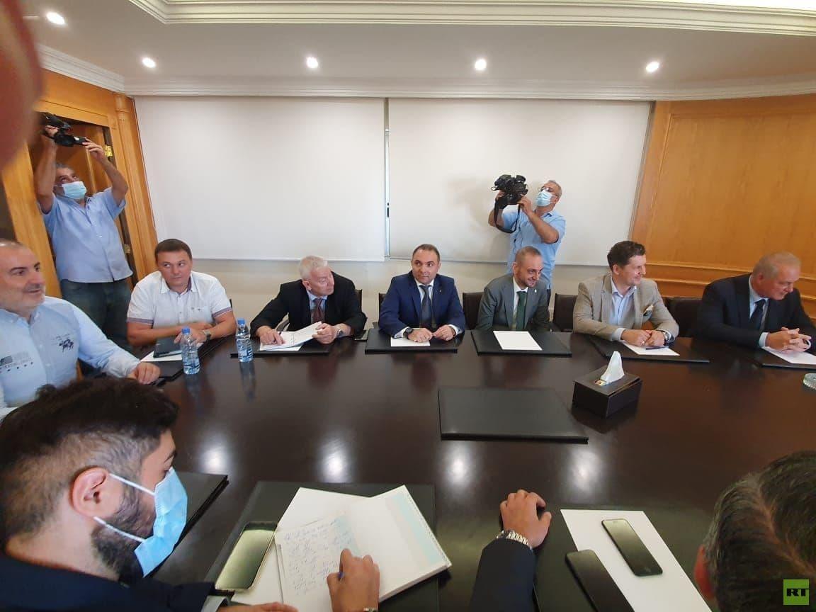 وفد استثماري روسي في لبنان بجعبته 7 مشاريع