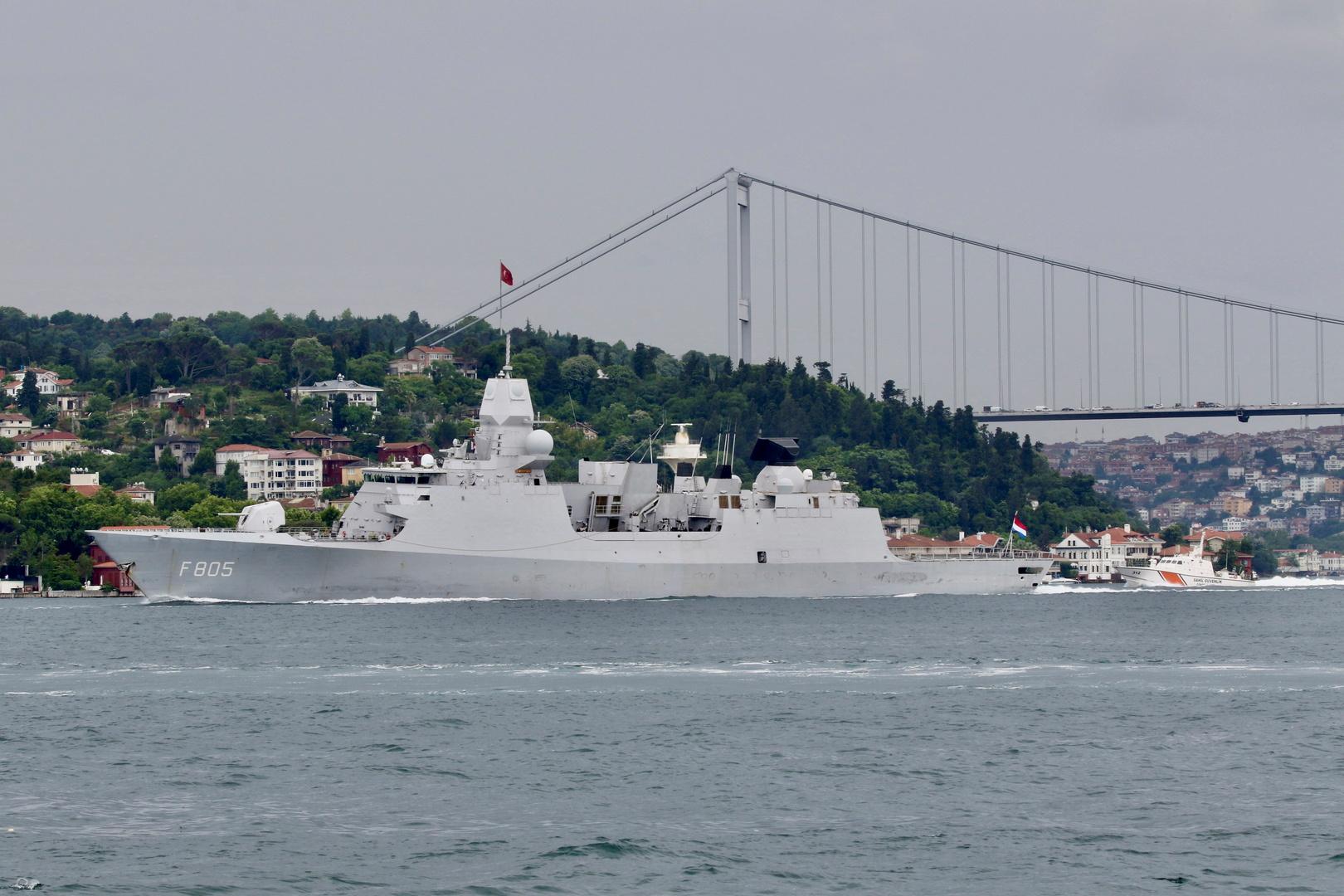 الدفاع الروسية: طائراتنا منعت سفينة هولندية من انتهاك حدود روسيا بالتوافق مع القانون الدولي