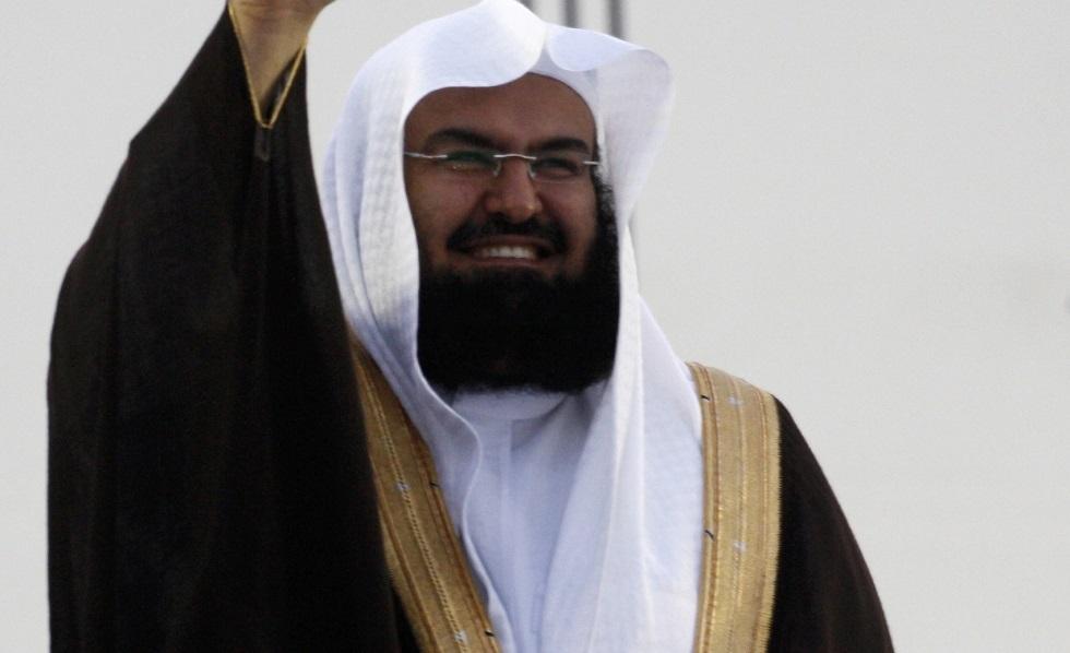 الشيخ عبد الرحمن السديس الرئيس العام لشؤون الحرمين الشريفين