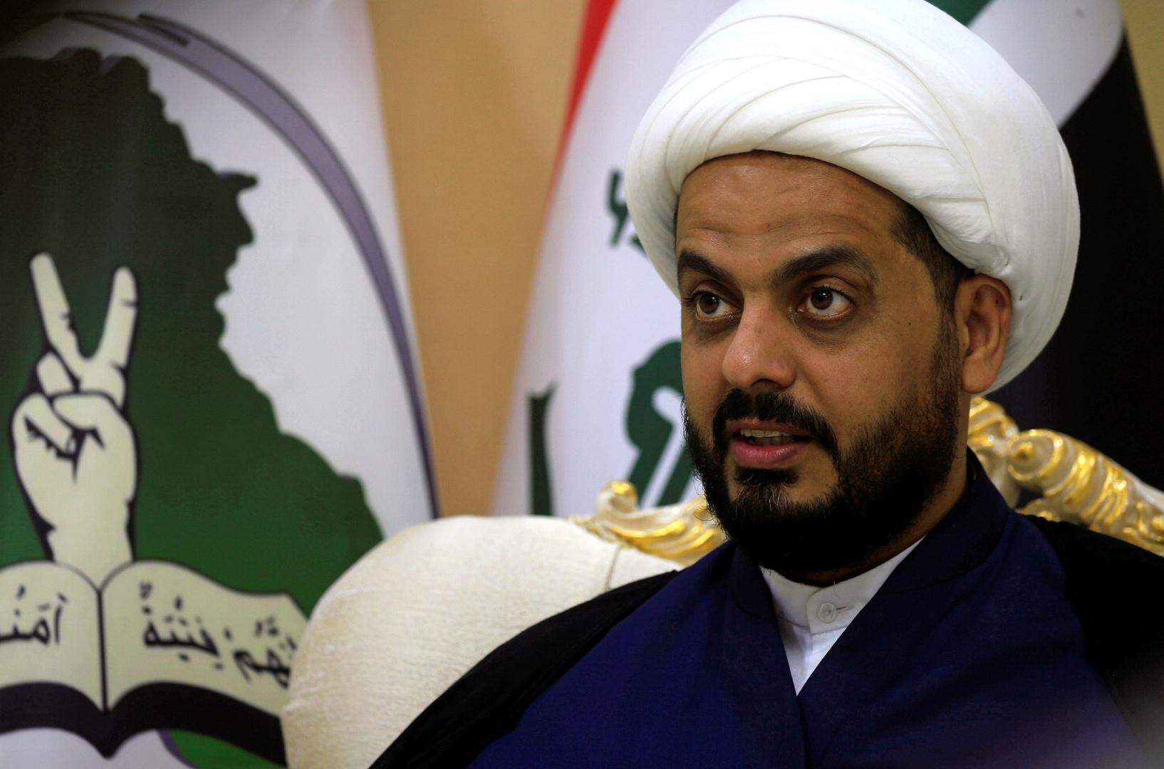 الخزعلي:  لدينا الجهوزية الكاملة للرد على أمريكا إذا استمرت في إراقة الدماء العراقية