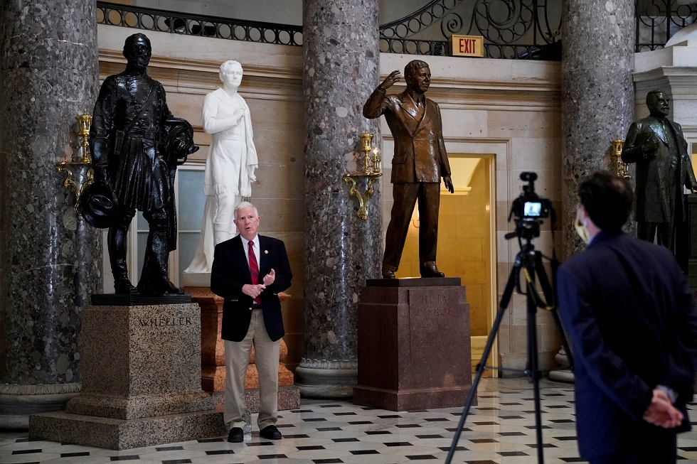 الكونغرس الأمريكي يوافق على قرار إزالة تماثيل قادة الكونفدرالية من مبنى الكابيتول
