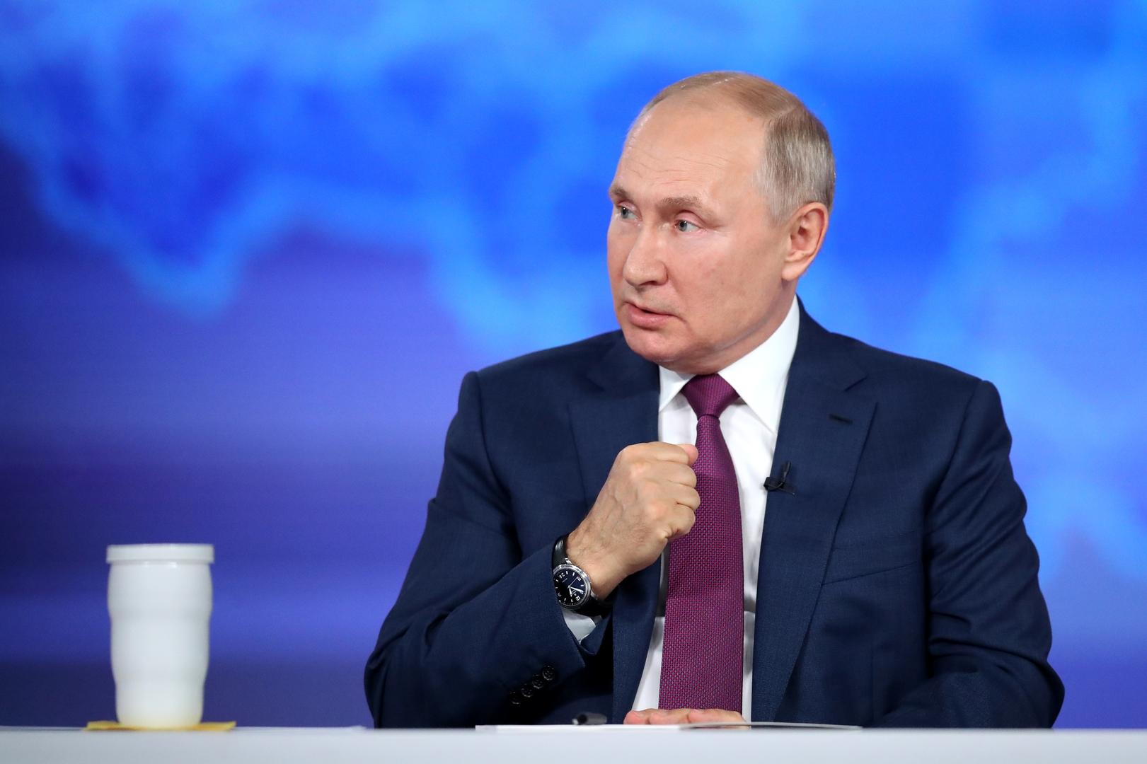 بوتين في رد شديد على عملية احتيال: هؤلاء مجرد حثالة
