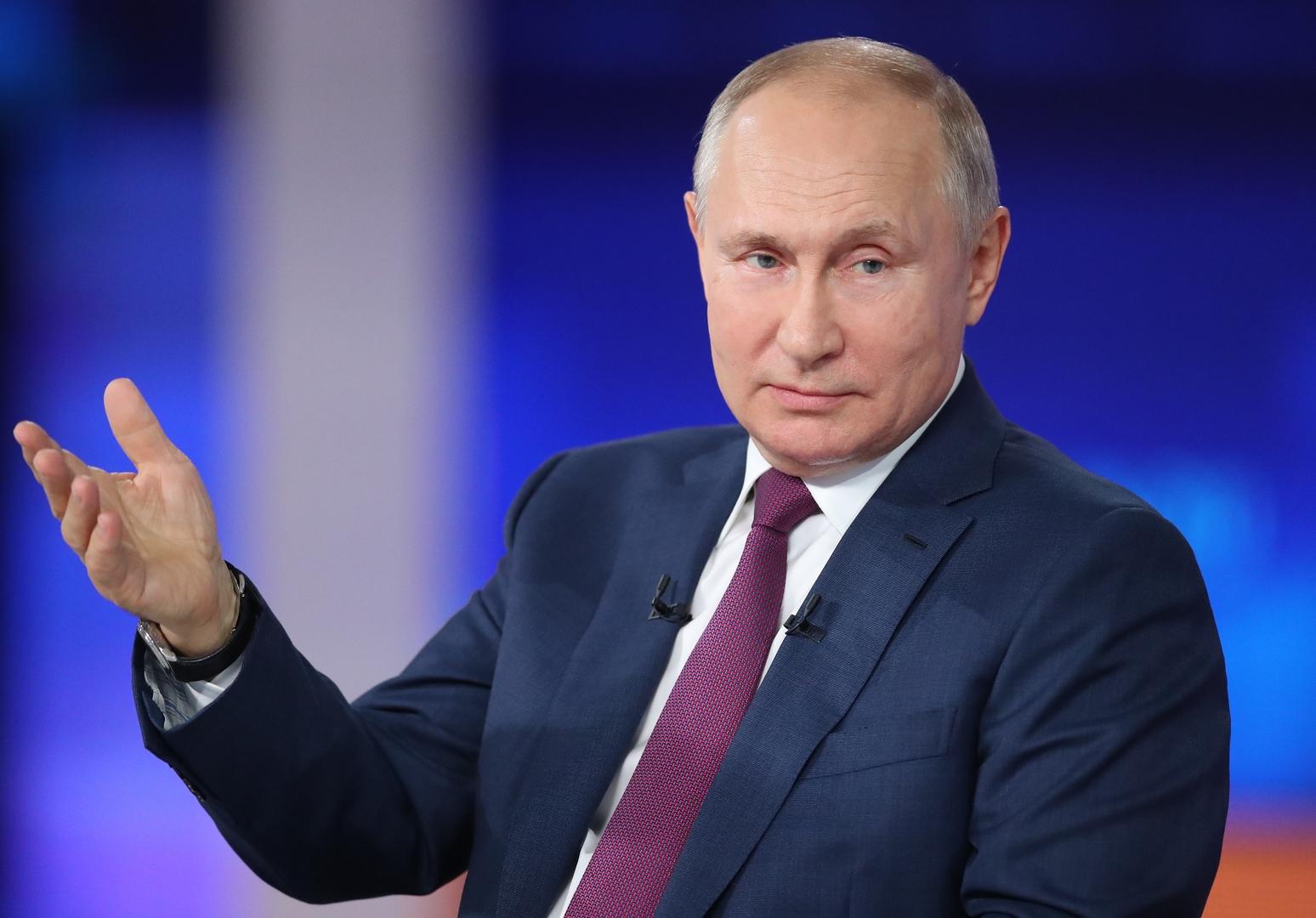 بوتين يكشف عن سر السعادة وكيفية تجاوز الصعوبات