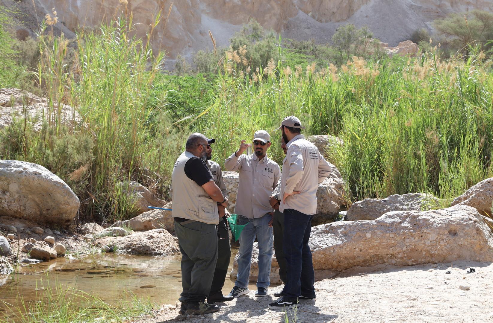 باحثون في الأردن يضعون جدولا زمنيا لإنقاذ سمك نادر مهدد بالانقراض