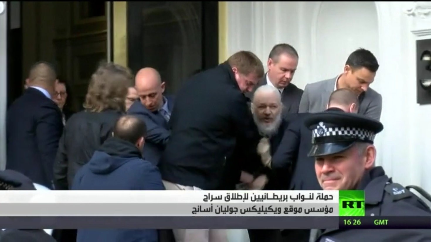 حملة لنواب بريطانيين لإطلاق سراح أسانج