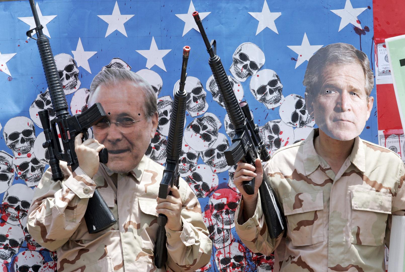 وفاة دونالد رامسفيلد.. أحد صناع قرار الحرب الأمريكية على العراق