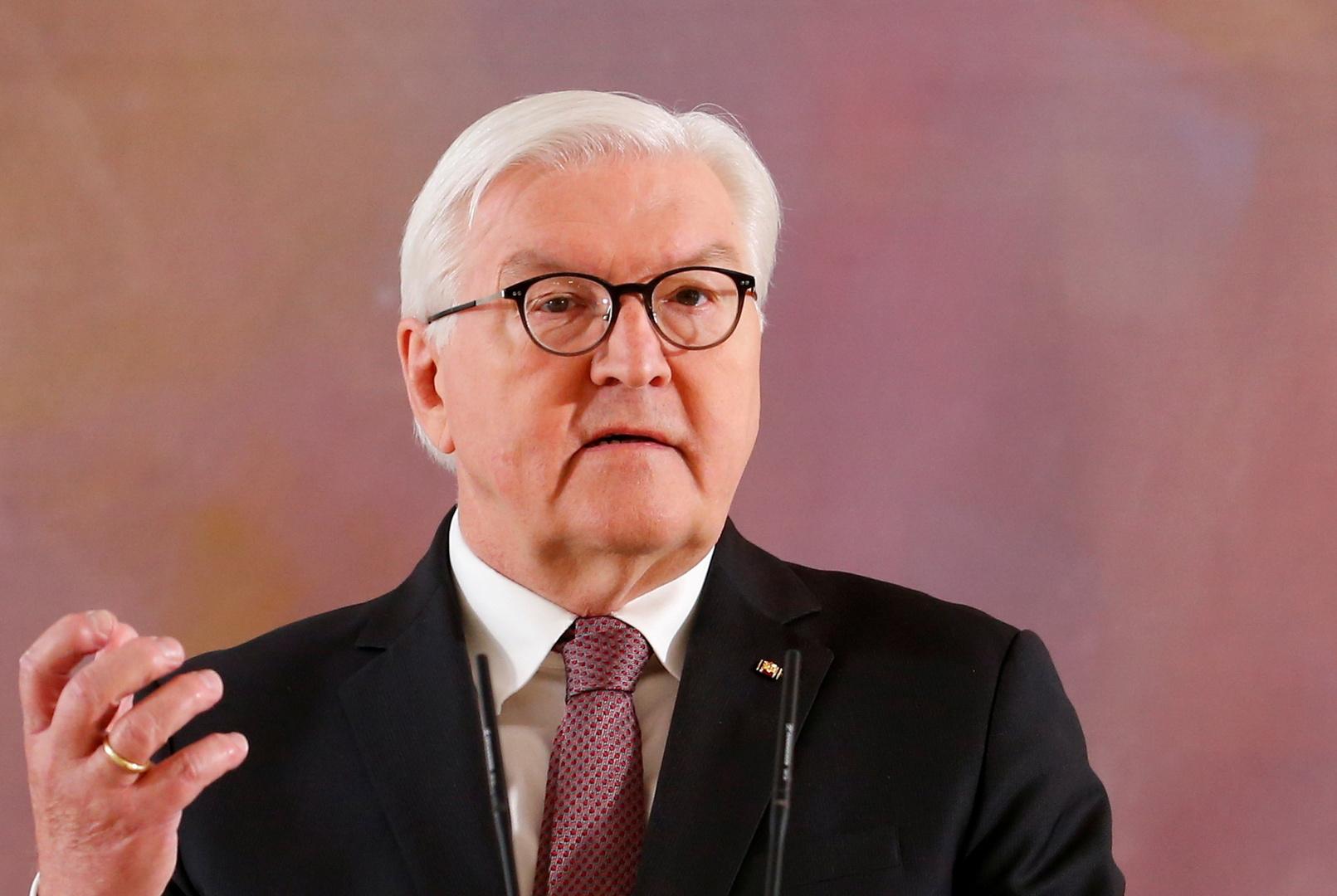 الرئيس الألماني يؤكد تمسكه بالمفاوضات مع إيران رغم مخاوف إسرائيل