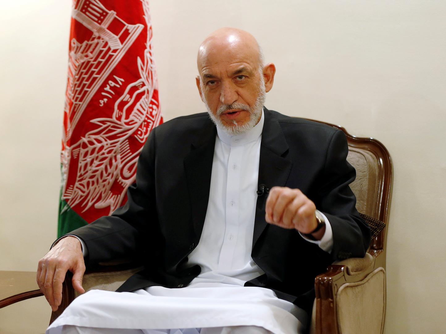 حامد كرزاي يصف مهمة الناتو في أفغانستان بـ