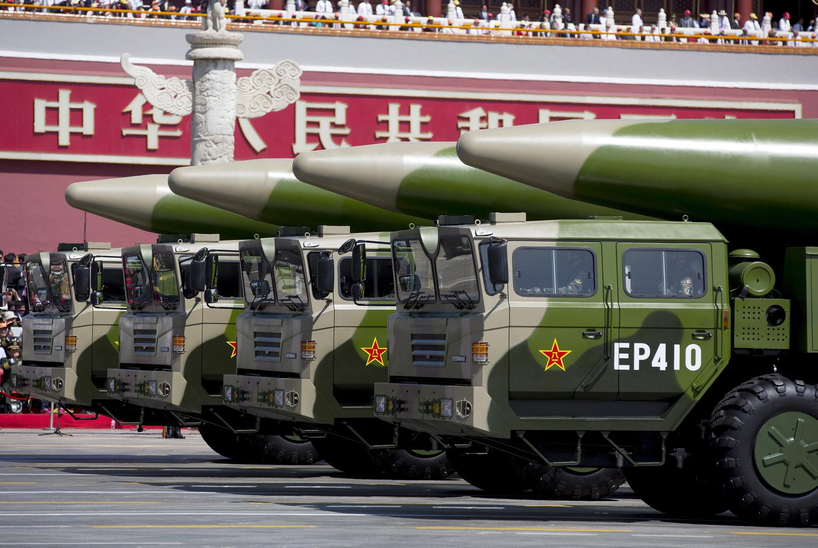 تقرير: الصين تبني 119 صومعة إطلاق صواريخ باليستية عابرة للقارات