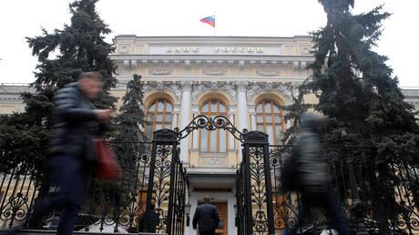 للمرة الثانية على التوالي.. المركزي الروسي يرفع سعر الفائدة الرئيسي