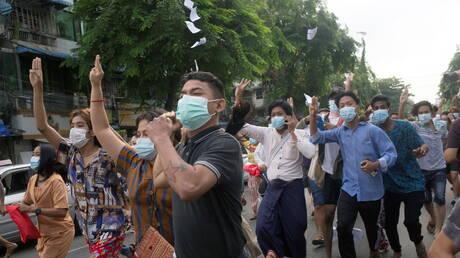 """الأمم المتحدة تحذر من """"كارثة حقوقية"""" وسط تصاعد العنف في ميانمار"""