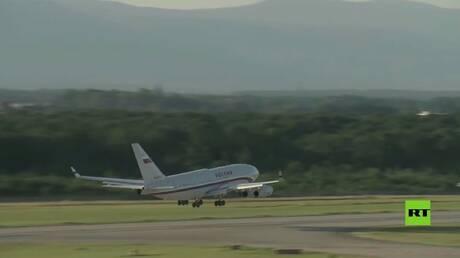 طائرة الرئيس الروسي تغادر سويسرا